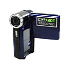 AIPTEK T2AHD HD 720p 5.0MP CMOS Digital Camcorder With 2.4&quot; TFT LCD and 8X Digital Zoom (DCE209)