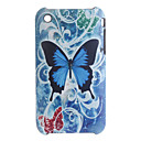 Multi-color  Butterfly Protective Backside Case Cover for iPhone 3G