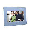 10moons DPF720 7-inch Digital Picture Photo Frame with Remote Control Slide Show Music Video (DCE170)