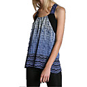 V Camisole Neckline Printed Patterns Vest Women's Tops(4201BA3011-0741)
