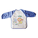 Light Blue Sleeve + Lion Style Baby's Gown Starting from 10 Pcs
