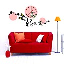Decorative Clock Wall Sticker (0752 -P7-01(B)+CLOCK)