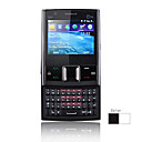 E97 Dual Card Quad Band Dual Camera Flashlight TV JAVA QWERTY Keypad Slide Touch Screen Cell Phone (2GB TF Card)