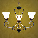Modern 3-light Iron Chandelier(0810- 2058-3B)