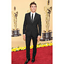 2010 Oscar Zac Efron  Single-Breasted 2 Button Center-vented Groom Wear/ Tuxedo/ Men's Suit Jacket and Pants