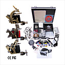 Livraison gratuite Kit Professionnel TATTOO MACHINE srie complte avec 3 machines gun Tattoo (0359-03.16-T031)