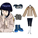 Naruto Hinata Hyuga Deluxe Women's Cosplay Costume and Accessories Set