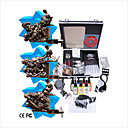 Tattoo Machine Kit Completed Set With 3 Tattoo Gun Machines