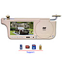 7 Inch Left/Right Side Sun Visor Car DVD Player Support TV