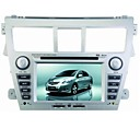 6,2 pouces TFT LCD numrique pour voiture cran tactile lecteur DVD-GPS-TV-FM-Bluetooth pour l'anne 2009 toyota - vios nouvelles (szc2207)
