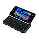 ME600 Dual Card Quad Band With WIFI TV QWERTY Keypad 3.0 Inch Rotary Screen Cell Phone Black (2GB TF Card)