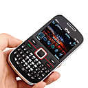 I6 Pro Quad Band Dual Card JAVA Bluetooth Cell Phone Black (2GB TF Card)