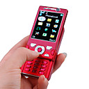 BaoXing Mini W995 Dual Card Dual Camera Quad Band with TV Function Slide Cell Phone Red (2GB TF Card)(SZ00720704)