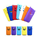Silicone Protective Case for iPhone 3G/3GS - Cute Devil Design (7 Colors Per Pack Randomly)