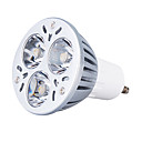 GU10 3W 270LM 6000-6300K Natural White Light LED Spot Bulb (220V)