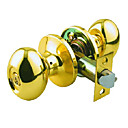 High Quality Solid Brass Keyed Entry Door Knob Lock (0799-6542PB-ET)