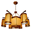 Elegant 6-light Hanging Chandelier(0860-J1161-6+3)