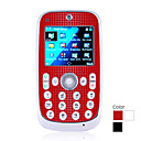 t188 quad band dual bluetooth scheda fm touch screen del telefono cellulare la musica (2GB TF card) (sz05151100)