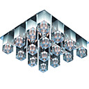 Crystal Glass 9-light Ceiling Light(0863-4531)