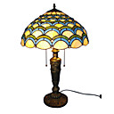 Tiffany-style Jewel Roman Table Lamp(0923-T49)