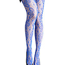 Lace Bow Pattern Net Hosiery / Women's Hosiery (FF-8205BE510-0736)