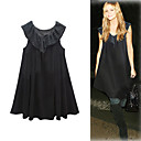 FASHION IDOLs Style / Sleeveless Ruffle Neckline Doll Dress / Women's Dresses (FF-1802BE029-0736)