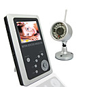 2.5 Inch TFT LCD 2.4GHz Wireless DVR Baby Monitor Kit with CMOS Camera with Night Vision