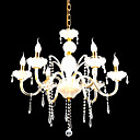 Candle 6-light K9 Crystal Chandelier(0944-HH11008)