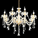 6-lumire de bougie k9 lustre de cristal (0944-hh11035)