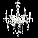 6-lumire de bougie k9 lustre de cristal (0944-hh11009)