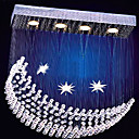 K9 Crystal 4-light Moon Shape Chandelier(0946-OL-083)