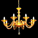 Candle 8-light Tawny K9 Crystal Chandelier(0944-HH11013)