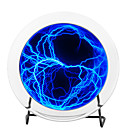 Blue Electric Plasma Plate with Touch and Sound Response (220V)