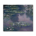 Handmade Water Lilies 36 Painting  by Claude Monet Stretched Ready to Hang (0192-YCF103500)