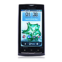 X10 GPS WIFI Dual Card TV 3.5 Inch Touch Screen Cell Phone Black(2GB TF Card)