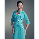 Half Sleeves Chiffon Satin Special Occasion Jacket/ Wedding Wrap