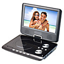 9.5 inch Portable DVD Player with TV Function USB Port 3 in 1 Card Reader and Games