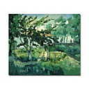 Handmade Summer Landscape Painting  by Kazimir Malevich(0192-YCF103692)