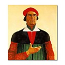 Handmade Self-Portrait 1933 painting  by Kazimir Malevich(0192-YCF103666)