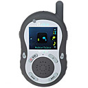 LCD de 1.8 &quot;walkie talkie 400-470MHz reproductor mp4 multimedia con radio FM y ranura para tf - negro (128 MB)