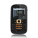 f3210 quad band dual card tv java cmera dupla celular QWERTY telefone preto