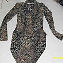 motifs lopard une ligne-robe licou manches longues / robes de femmes (ff-d-bk0736016)
