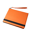 Leather Case With Handheld Strap For Apple iPad - Sharp Color