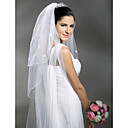 3 Layers Cathedral Length Wedding Veil (TS043)