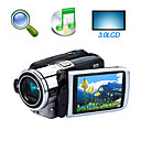 "HD 1280 * 720 @ 30fps 5MP 8xdigital zoom videocamera digitale con 3.0 ""LCD TV registratore vocale Funzione schermo (HD-595ii)"