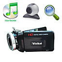 "hd 1280 * 720 @ 30fps 5MP digitale video camera met 3.0 ""LCD-scherm 8x digitale zoom / pc camera (hd-6000)"