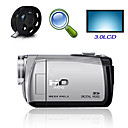 "hd 1280 * 720 @ 30fps 5MP 8xdigital zoom digitale video camera met 3.0 ""LCD-scherm tv-out functie (hd-C5)"