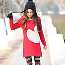 Spring 2011 Asian trend Red heart round neck sweater K39