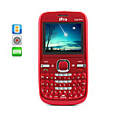 Cranberry - Dual SIM QWERTY Quadband Cell Phone + FREE 2GB TF Card