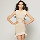 TS Ruffle Mesh Party Dress